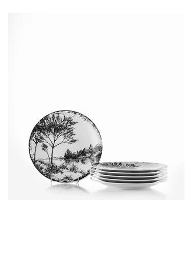 Kütahya Porselen Kütahya Porselen Zeugma 6″Lı Pasta Takımı 885364 Renkli
